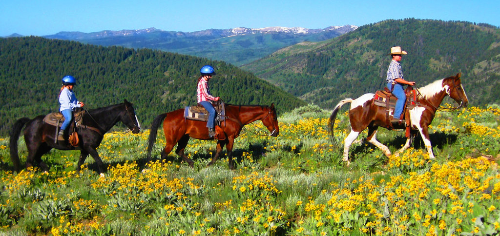 Horseback riding, by Beaver Creek Lodge